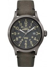 Timex TW4B01700 Mens expedition analog förhöjda brun klocka