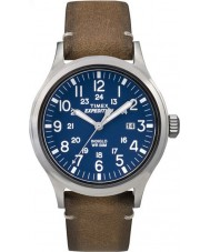 Timex TW4B01800 Mens expedition analog förhöjda tan läderrem watch