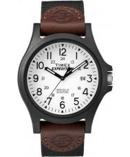 Timex TW4B08200 Mens expedition brunt tyg rem klocka