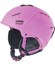 Uvex 5661539105 P1us matt rosa skidhjälm - 55-59cm