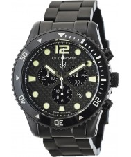 Elliot Brown 929-002-B03 Mens bloxworth svart kolfiber chronographklockan