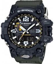 Casio GWG-1000-1A3ER Mens g-shock radio styrd soldrivna kompass svart klocka