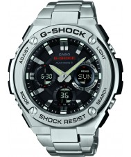 Casio GST-W110D-1AER Mens g-shock radio styrd soldrivna silver watch