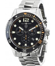 Elliot Brown 929-005-B01 Mens bloxworth silver stål chronographklockan