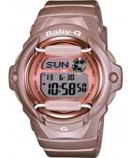 Casio BG-169G-4ER Baby-g Tele världstid rosa harts rem klocka