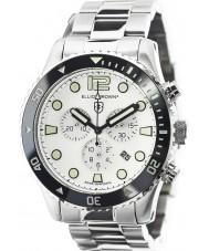 Elliot Brown 929-007-R01 Mens bloxworth silver stål chronographklockan
