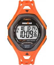 Timex TW5M10500 Mens ironman elegant apelsin harts rem klocka