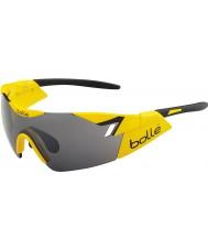Bolle 6th Sense glänsande gul svart TNS pistol solglasögon