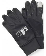 Up UP136XL Mens prestanda svarta löpare handskar - storlek XL (uk 12-14)
