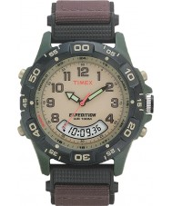 Timex T45181 Mens kräm brun expedition combo watch