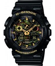 Casio GA-100CF-1A9ER Mens g-shock svart chronographklockan