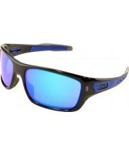 Oakley Oo9263-05 turbin svart bläck - safir iridium solglasögon