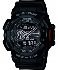 Casio GA-400-1BER Mens g-shock svart chronographklockan