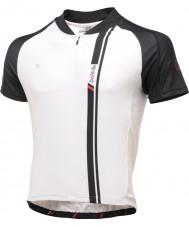 Dare2b DMT093-7P570-L Mens AEP svart och vitt kort ärm jersey t-shirt top - storlek L