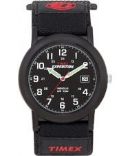 Timex T40011 Mens svart husbil expedition klocka