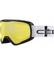 Cebe CBG50 Striker l apelsin rutig - orange blixt spegel skidglasögon