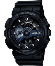 Casio GA-110-1BER Mens g-shock svart combi världstid klocka