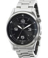 Elliot Brown 202-006-B07 Mens Canford silver stål armband klocka