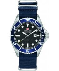 Swiss Military 6-4279-04-007-03 Man sjölejon blå nylonband klocka