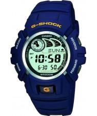 Casio G-2900F-2VER Mens g-shock e-databas blå klocka