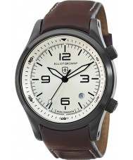 Elliot Brown 202-009-L05 Mens Canford brunt läder Strap Watch