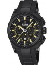 Festina F16971-3 Mens Chrono cykel svart gummi chronographklockan
