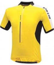 Dare2b DMT134-0QX40-XS Mens astir ljust gula ledartröjan t-shirt - storlek XS