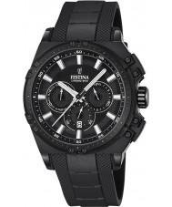 Festina F16971-1 Mens Chrono cykel svart gummi chronographklockan