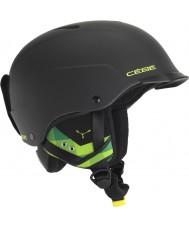 Cebe CBH99 Contest visir matt svart och grönt skidhjälm - 55-58cm