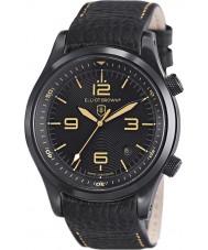 Elliot Brown 202-008-L11 Mens Canford svart läderrem klocka