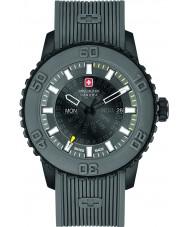 Swiss Military 6-4281-27-007-30 Mens skymning grå silikon band watch