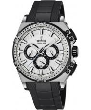 Festina F16970-1 Mens Chrono cykel svart gummi chronographklockan