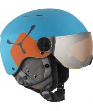 Cebe CBH209 Eldklot jr blå apelsin skidhjälm - 49-54cm