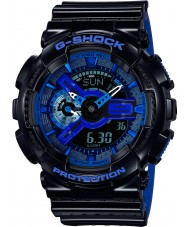 Casio GA-110LPA-1AER Mens g-shock världstid blå harts rem klocka