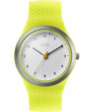 Braun BN0111WHGRL Sport-grön silikon band watch
