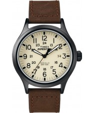 Timex T49963 Mens expedition scout brun klocka
