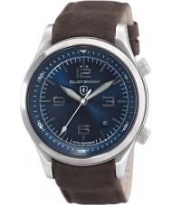 Elliot Brown 202-007-L07 Mens Canford brunt läder Strap Watch