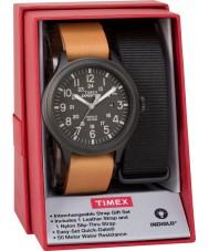 Timex TWG016200 Mens expedition scout klock gåva uppsättning