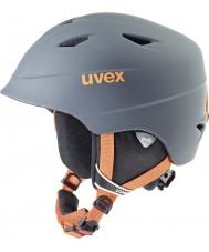 Uvex 5661325803 Airwing pro titan apelsin skidhjälm - 52-54cm