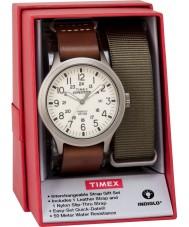 Timex TWG016100 Mens expedition scout klock gåva uppsättning