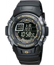 Casio G-7710-1ER Mens g-shock svart automatisk belysnings klocka
