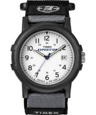 Timex T49713 Mens vit svart husbil expedition klocka