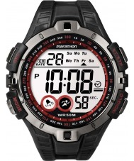 Timex T5K423 Mens röd svart maraton sportklockan
