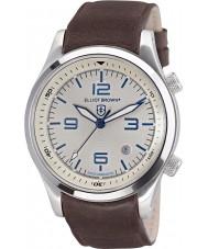 Elliot Brown 202-001-L09 Mens Canford brunt läder Strap Watch