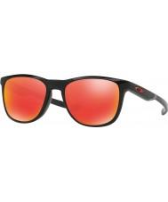 Oakley Oo9340-02 trillbe x polerad svart - rubin iridium solglasögon
