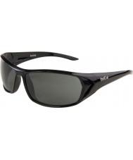 Bolle Blacktail glänsande svart tns solglasögon