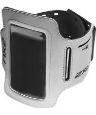 2XU UQ2409G-SIL-BLK-OSFA Silver ipod hållare