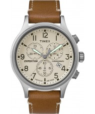 Timex TW4B09200 Mens expedition tan läderrem watch
